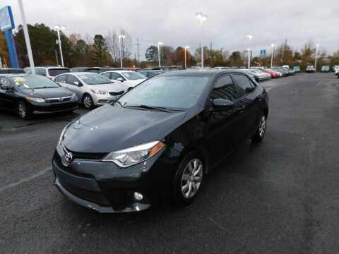 2014 Toyota Corolla for sale at Paniagua Auto Mall in Dalton GA