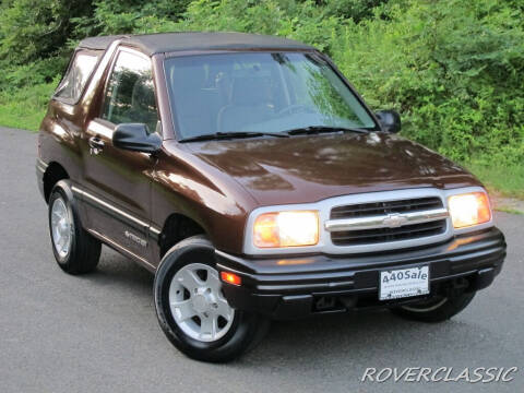 2000 Chevrolet Tracker for sale at Isuzu Classic in Cream Ridge NJ