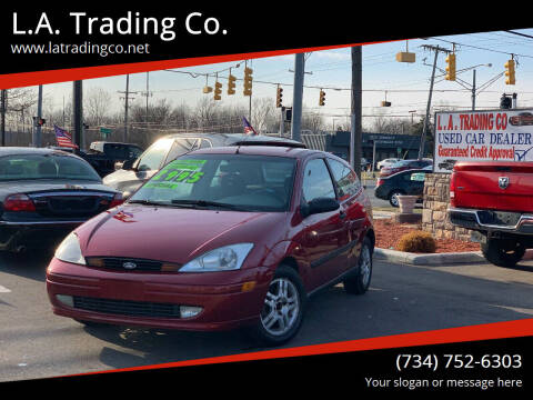 2000 Ford Focus for sale at L.A. Trading Co. Woodhaven in Woodhaven MI