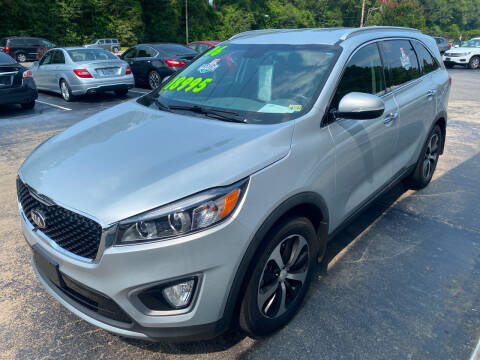 2016 Kia Sorento for sale at TOP OF THE LINE AUTO SALES in Fayetteville NC