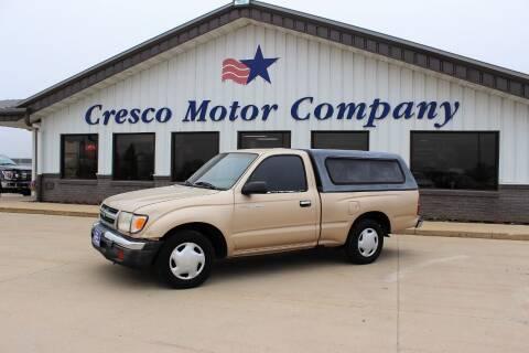2000 Toyota Tacoma for sale at Cresco Motor Company in Cresco IA