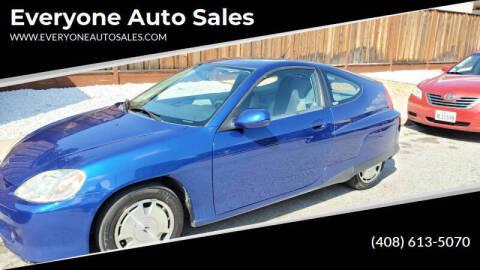 2002 Honda Insight for sale at Everyone Auto Sales in Santa Clara CA