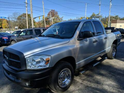 2008 Dodge Ram Pickup 1500 for sale at Richland Motors in Cleveland OH