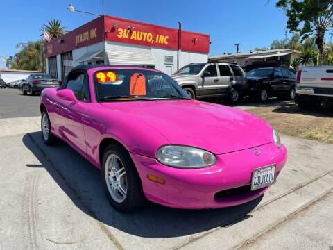 1999 Mazda MX-5 Miata for sale at 3K Auto in Escondido CA