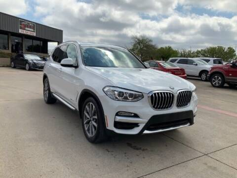 2018 BMW X3 for sale at KIAN MOTORS INC in Plano TX