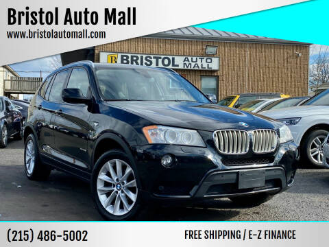 2014 BMW X3 for sale at Bristol Auto Mall in Levittown PA