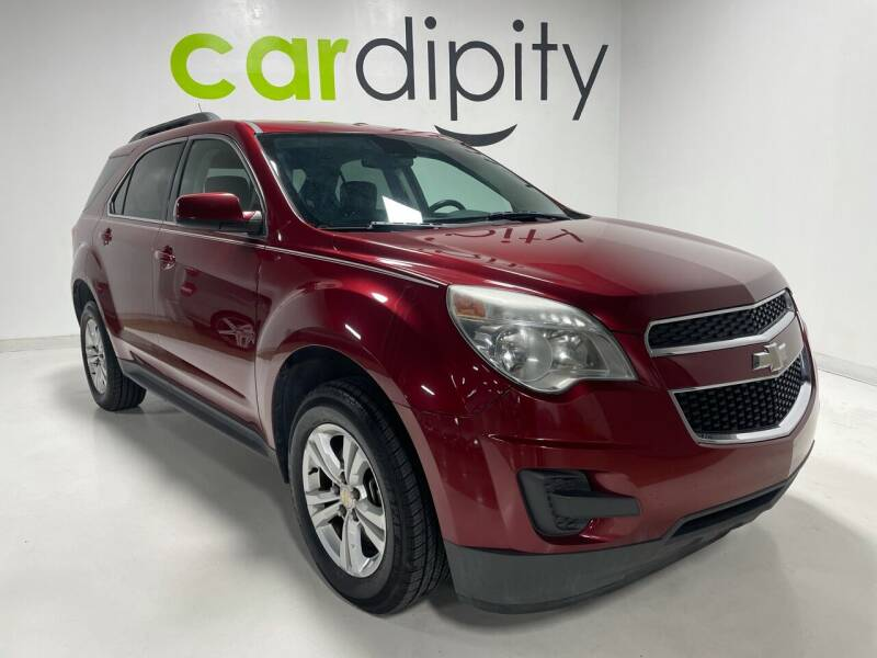 2012 Chevrolet Equinox for sale at Cardipity in Dallas TX