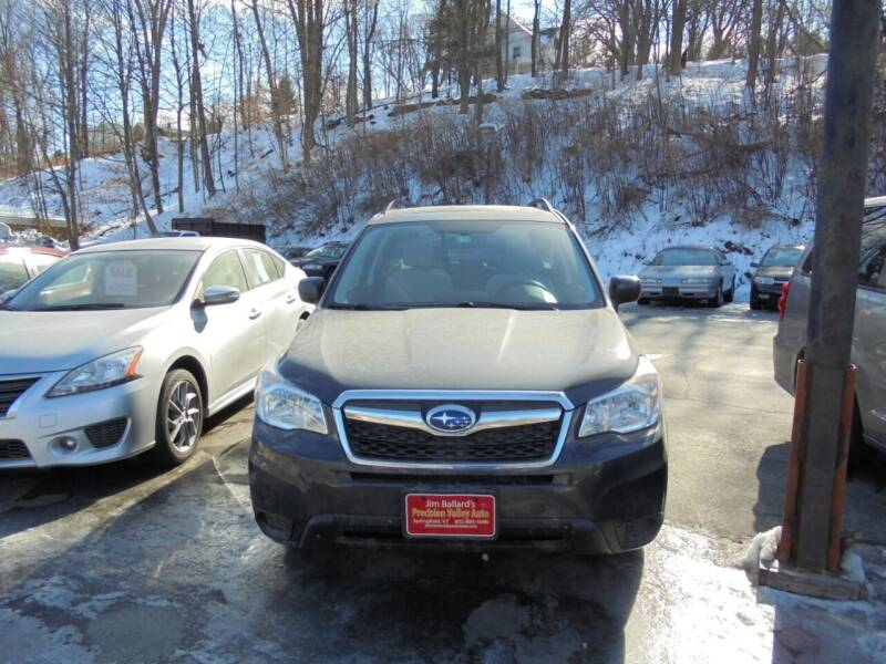 2015 Subaru Forester for sale at Precision Valley Auto Sales in Springfield VT