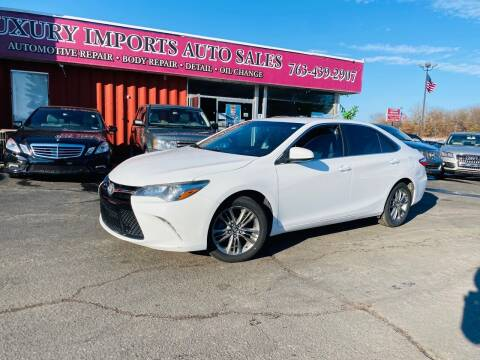 2015 Toyota Camry for sale at LUXURY IMPORTS AUTO SALES INC in North Branch MN