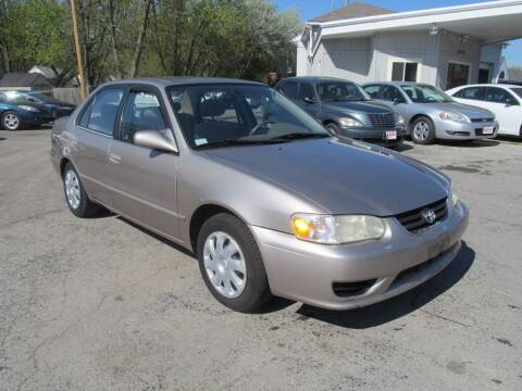 2002 Toyota Corolla for sale at St. Mary Auto Sales in Hilliard OH