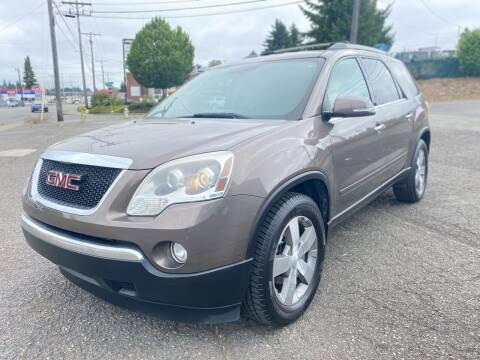 2011 GMC Acadia for sale at South Tacoma Motors Inc in Tacoma WA