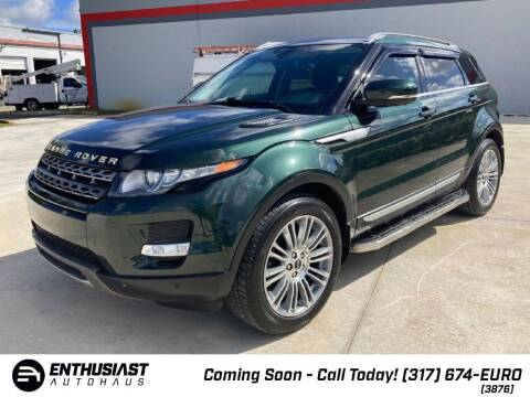 2012 Land Rover Range Rover Evoque for sale at Enthusiast Autohaus in Sheridan IN