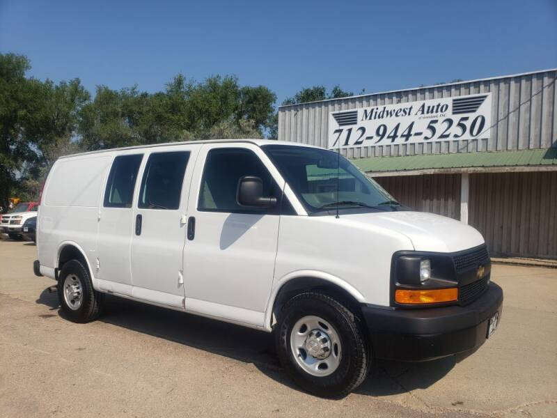 2015 Chevrolet Express Cargo for sale at Midwest Auto of Siouxland, INC in Lawton IA