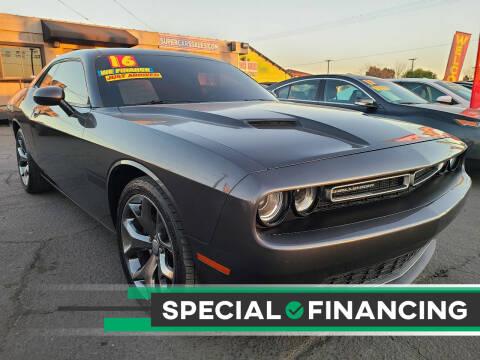 2016 Dodge Challenger for sale at Super Cars Sales Inc #1 - Super Auto Sales Inc #2 in Modesto CA