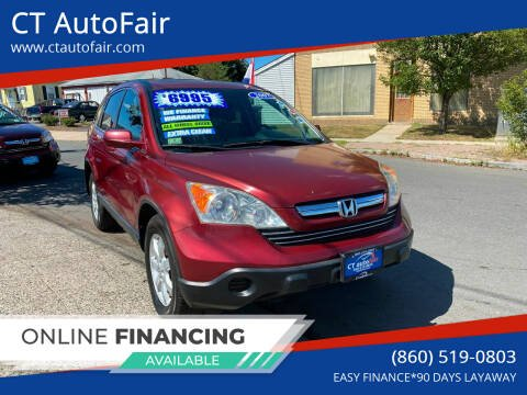 2007 Honda CR-V for sale at CT AutoFair in West Hartford CT