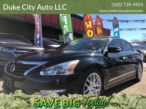 2014 Nissan Altima for sale at Duke City Auto LLC in Gallup NM