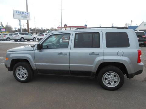 2016 Jeep Patriot for sale at Salmon Automotive Inc. in Tracy MN