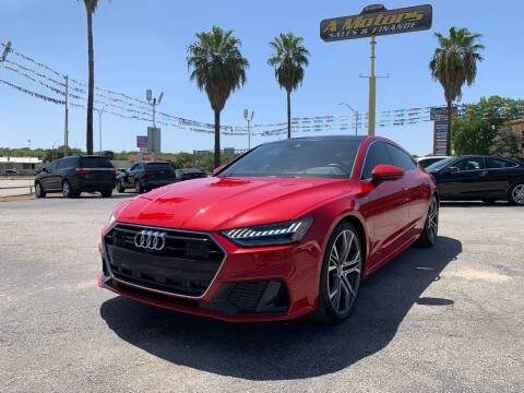 2019 Audi A7 for sale at A MOTORS SALES AND FINANCE in San Antonio TX
