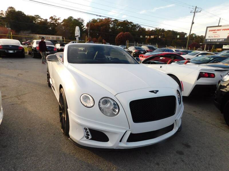 2012 Bentley Continental AWD GT 2dr Convertible - Jonesboro GA
