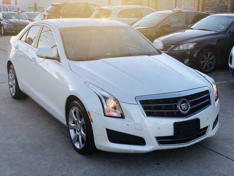 2014 Cadillac ATS for sale at Safeen Motors in Garland TX