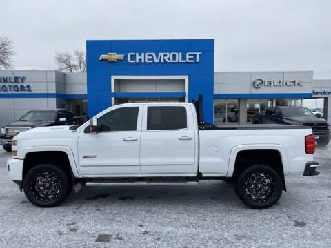 2017 Chevrolet Silverado 2500HD for sale at Finley Motors in Finley ND