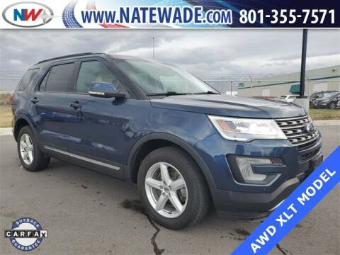 2017 Ford Explorer for sale at NATE WADE SUBARU in Salt Lake City UT