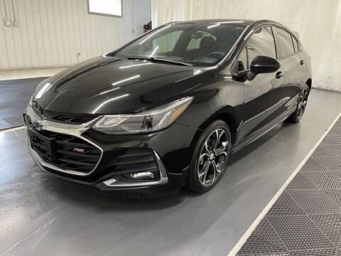 2019 Chevrolet Cruze for sale at Monster Motors in Michigan Center MI