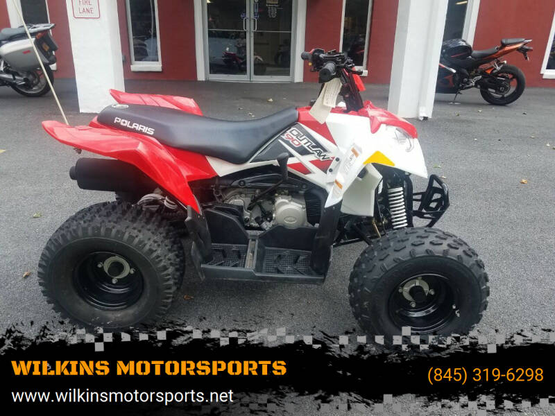 2011 Polaris Outlaw 90 for sale at WILKINS MOTORSPORTS in Brewster NY