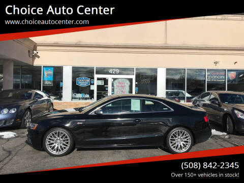 2016 Audi S5 for sale at Choice Auto Center in Shrewsbury MA