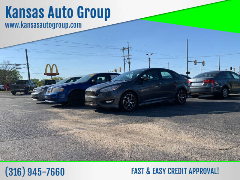 2015 Ford Focus for sale at Kansas Auto Group in Wichita KS