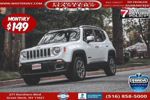 2015 Jeep Renegade for sale at European Masters in Great Neck NY