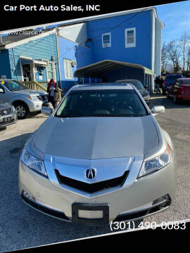 2011 Acura TL for sale at Car Port Auto Sales, INC in Laurel MD