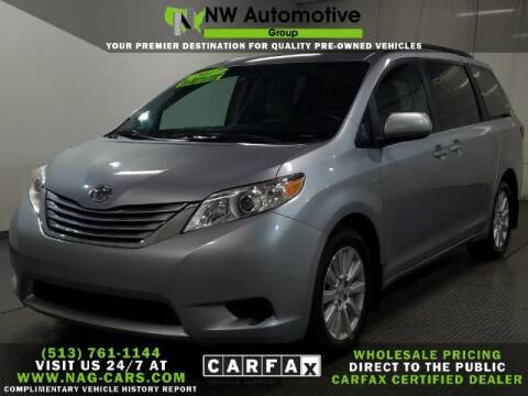 2017 Toyota Sienna for sale at NW Automotive Group in Cincinnati OH