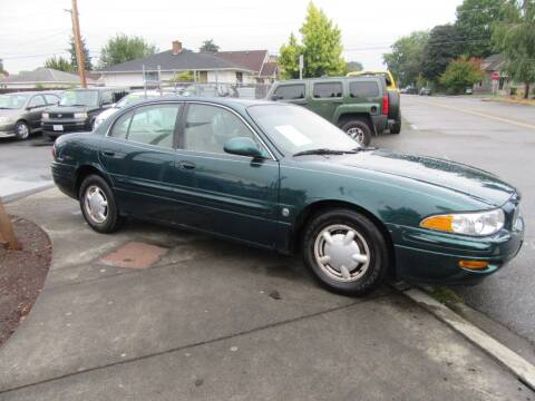 2000 Buick LeSabre for sale at Car Link Auto Sales LLC in Marysville WA