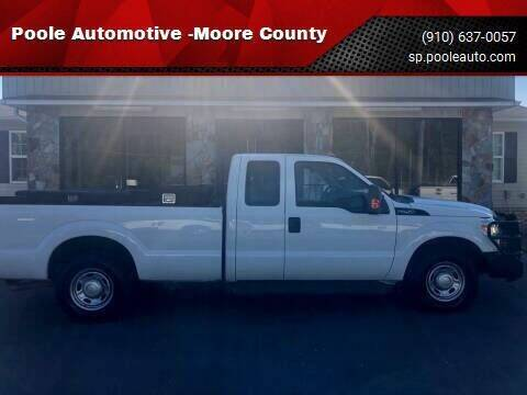 2014 Ford F-250 Super Duty for sale at Poole Automotive in Laurinburg NC