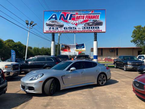 2014 Porsche Panamera for sale at ANF AUTO FINANCE in Houston TX