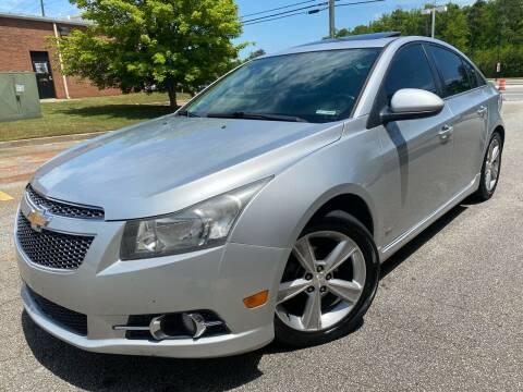 2013 Chevrolet Cruze for sale at Gwinnett Luxury Motors in Buford GA