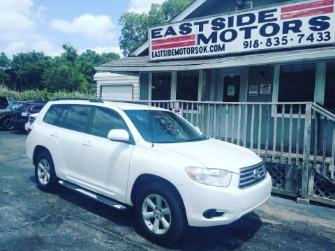2009 Toyota Highlander for sale at EASTSIDE MOTORS in Tulsa OK