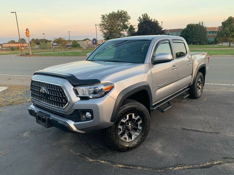 2018 Toyota Tacoma for sale at Lux Car Sales in South Easton MA