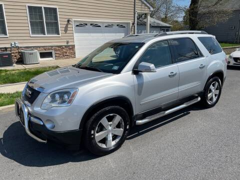 2010 GMC Acadia for sale at Jordan Auto Group in Paterson NJ