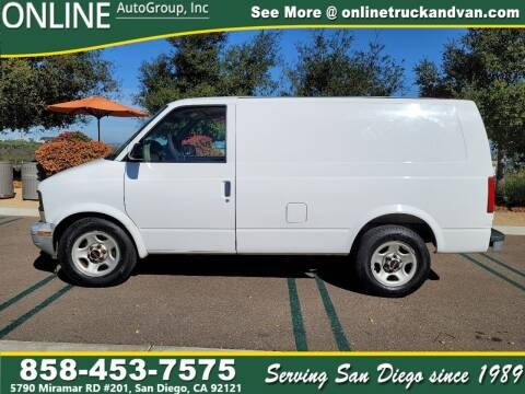2005 GMC Safari Cargo for sale at Online Auto Group Inc in San Diego CA