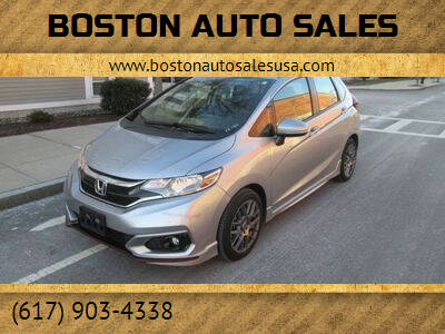 2018 Honda Fit for sale at Boston Auto Sales in Brighton MA