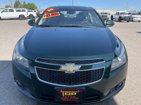 2014 Chevrolet Cruze for sale at Top Line Auto Sales in Idaho Falls ID