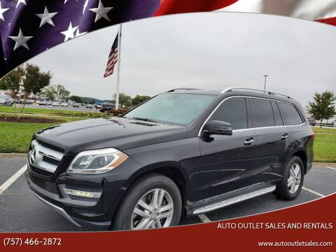 2013 Mercedes-Benz GL-Class for sale at Auto Outlet Sales and Rentals in Norfolk VA