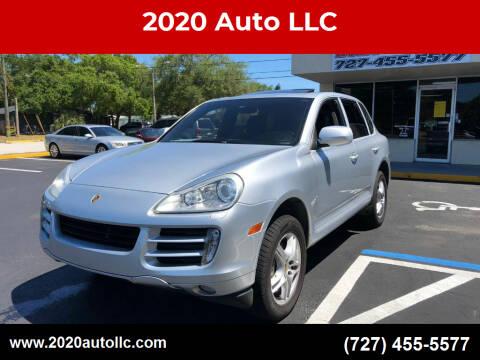 2009 Porsche Cayenne for sale at 2020 AUTO LLC in Clearwater FL