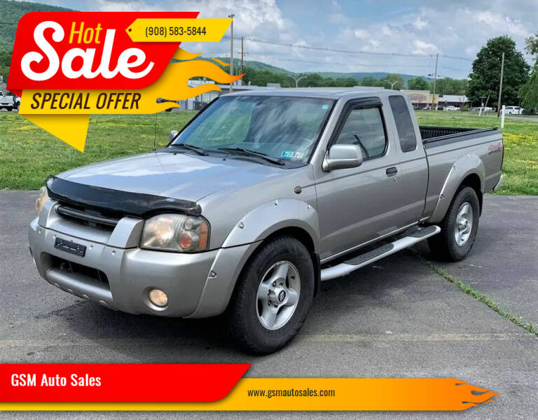 2001 Nissan Frontier for sale at GSM Auto Sales in Linden NJ