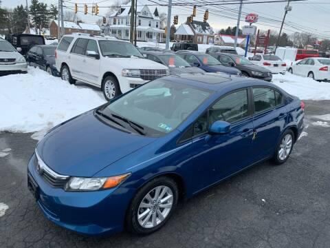 2012 Honda Civic for sale at Masic Motors, Inc. in Harrisburg PA
