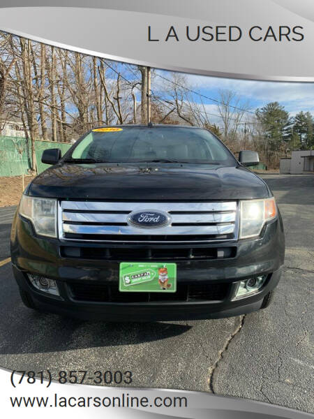 2010 Ford Edge for sale at L A Used Cars in Abington MA