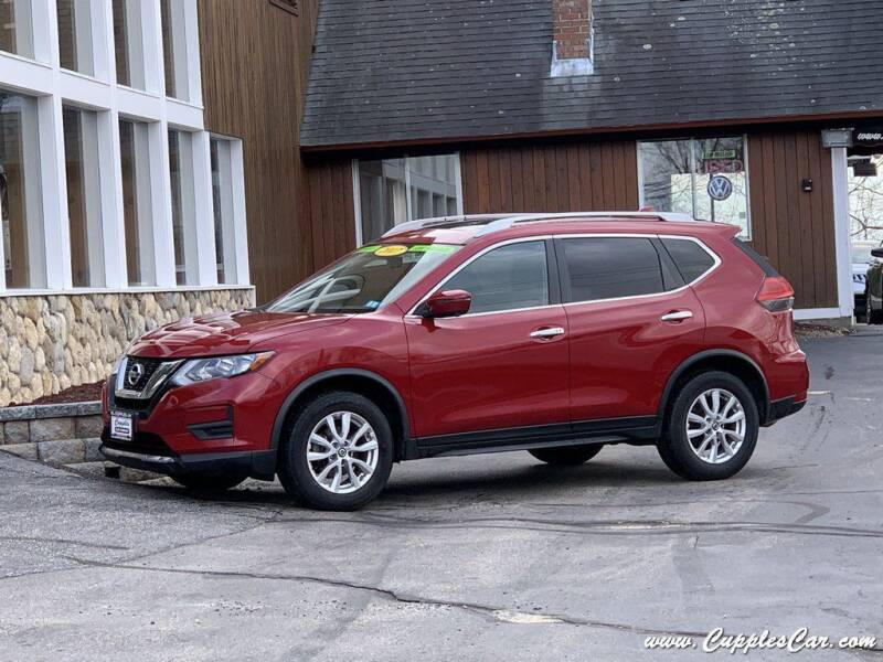 2017 Nissan Rogue for sale at Cupples Car Company in Belmont NH