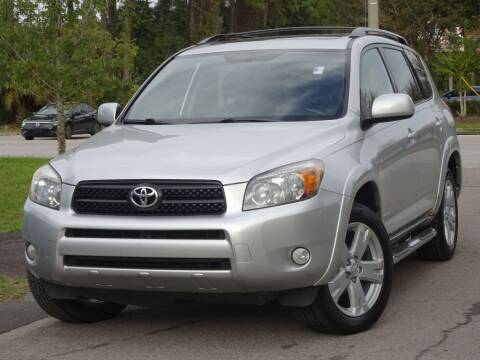 2007 Toyota RAV4 for sale at Deal Maker of Gainesville in Gainesville FL